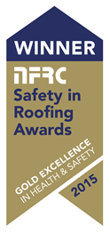 Winner, NFRC Safety in Roofing Awards, 2015