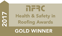 NFRC Gold Winner Health and Safety in Roofing Award 2017